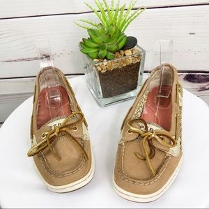 SH76 Sperry Angelfish leather boat shoes